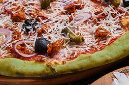 Тісто для піци зелене
